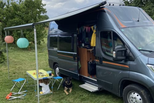 Hire a motorhome in Gelnhausen from private owners| Globecar Rasmus