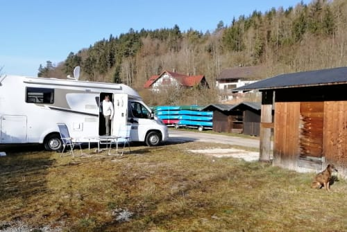 Hire a motorhome in Heilbronn from private owners| Carado Chillkröte