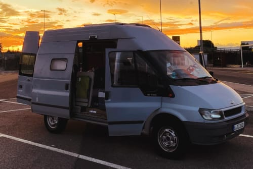 Hire a motorhome in Berlin from private owners  Ford  Fabulous Faby