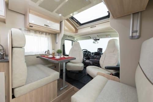 Hire a motorhome in Eriskirch from private owners  PLA Viktoria