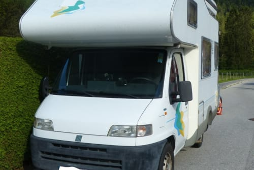 Hire a motorhome in Garmisch-Partenkirchen from private owners| Knaus Puffo