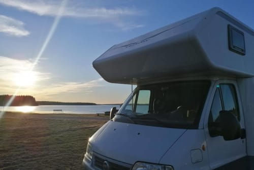 Hire a motorhome in Dohna from private owners| Fiat Ducato 15 CAMBÄR Autark