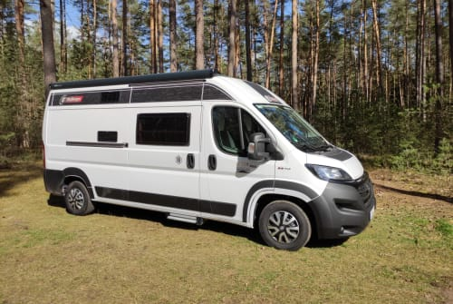Hire a motorhome in Lauf an der Pegnitz from private owners  Fiat Ducato Challenger JuJoCamper
