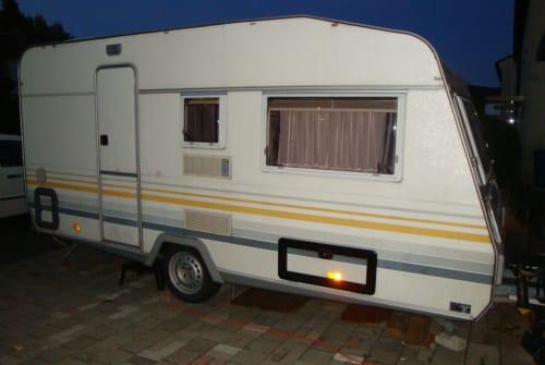 Hire a motorhome in Sindelfingen from private owners| Knaus das Tu Tu Mobil