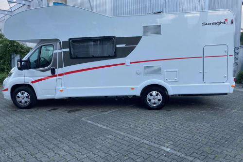 Hire a motorhome in Deizisau from private owners| Fiat Kan-Caravaning