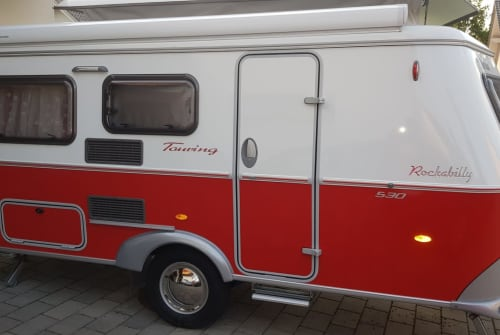 Hire a motorhome in Bad Grönenbach from private owners  Eriba Rockabilly