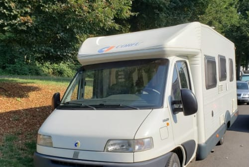 Hire a motorhome in Mannheim from private owners| CI Theo