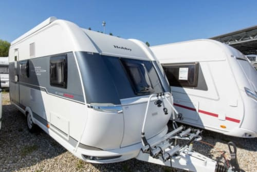 Hire a motorhome in Aichach from private owners  Hobby  Glücksmobil