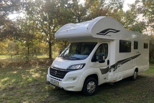 Hire a motorhome in Eberswalde from private owners  Fiat Glücksbringer