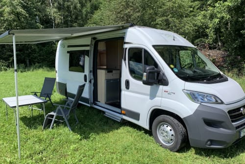 Hire a motorhome in Übersee from private owners| Pössl CaWo