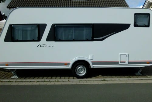 Hire a motorhome in Breckerfeld from private owners| Bürstner Campino