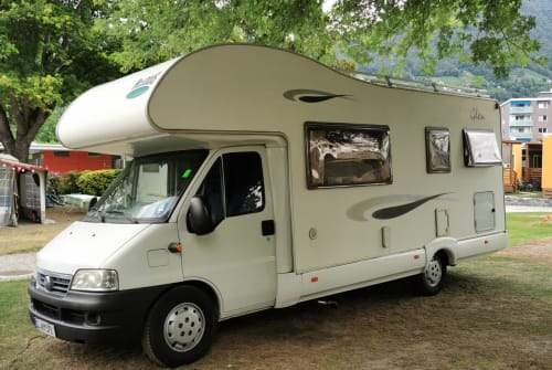 Hire a motorhome in Meyn from private owners| Fiat Ducato 2,8 JTD Paul
