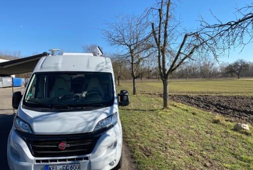 Hire a motorhome in Kehl from private owners| Bürstner MandyVan