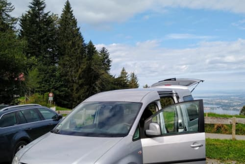 Hire a motorhome in Dietmannsried from private owners  VW Caddy Silberschatz