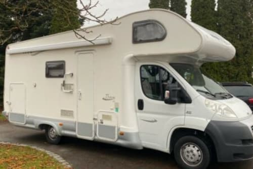 Hire a motorhome in Kissing from private owners  Fiat Ducato 2.2 Alkoven Baron46