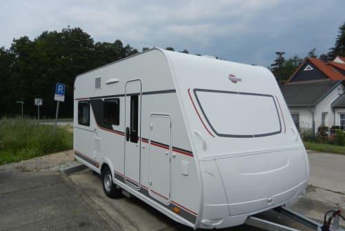 Hire a motorhome in Eberswalde from private owners  Bürstner Wohnwagen