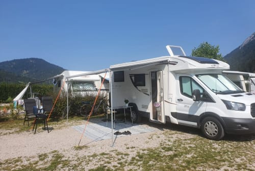 Hire a motorhome in Winnenden from private owners  Roller Team Taco
