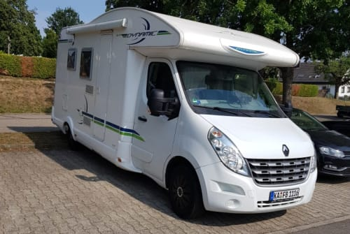 Hire a motorhome in Waldbronn from private owners| Renault Benjamin