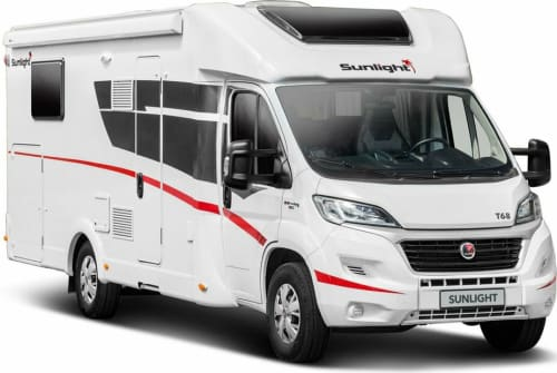 Hire a motorhome in Ganderkesee from private owners| Sunlight  WV 53