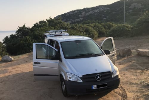 Hire a motorhome in Stuttgart from private owners  Mercedes Benz Vito Guide