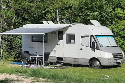 Hire a motorhome in Ratzeburg from private owners  Laika / Hymer Group Laika