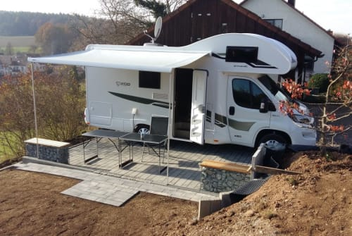 Hire a motorhome in Baunach from private owners| XGO Tilda