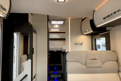 Hire a motorhome in Breydin from private owners  Roller Team Kronos 284