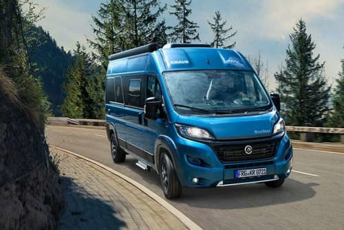 Hire a motorhome in Eslarn from private owners| Knaus Kleiner Knausi