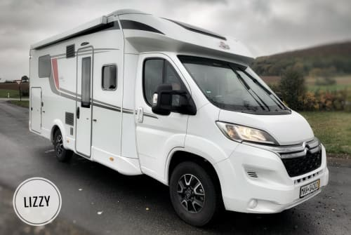 Hire a motorhome in Sinntal from private owners| Bürstner  Lizzy