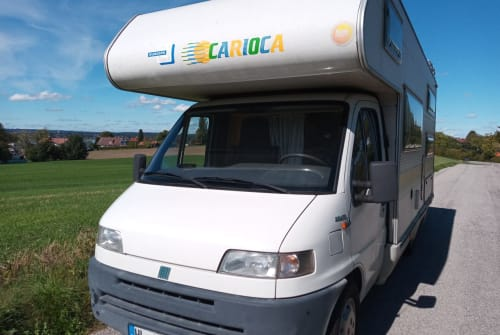 Hire a motorhome in Vilgertshofen from private owners| Fiat Ducato CI Karl +E-Bikes