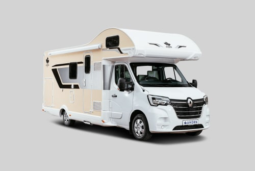 Hire a motorhome in Rippershausen from private owners| Ahorn Dicke Berta