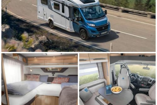Hire a motorhome in Eslarn from private owners| Knaus großer Knausi