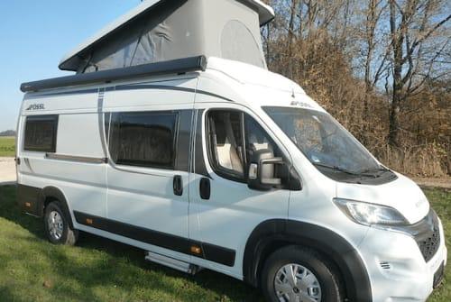 Hire a motorhome in Bietigheim-Bissingen from private owners  Pössl Camper Family B