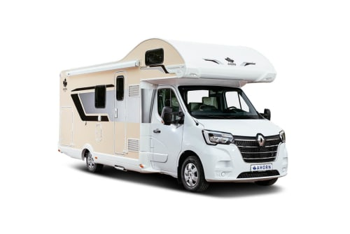 Hire a motorhome in Apolda from private owners| Renault Scotti