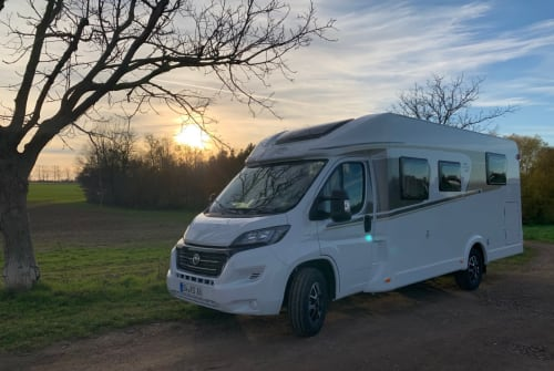 Hire a motorhome in Wilsdruff from private owners| Fiat Carado RoadRunner Rudi