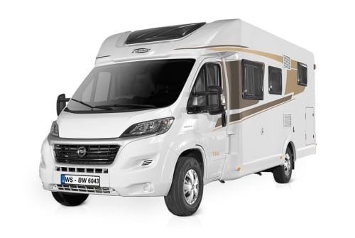 Hire a motorhome in Edling from private owners| HYMER CARADO BACHERWOMO