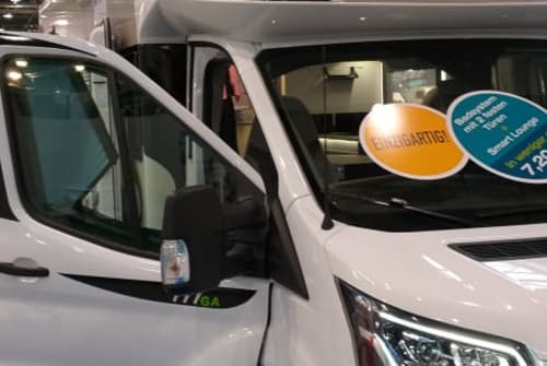 Hire a motorhome in Senftenberg from private owners  Chausson  Pitti