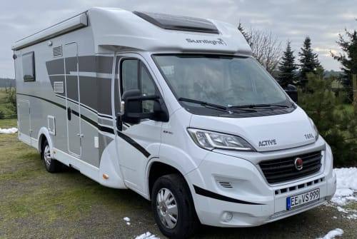 Hire a motorhome in Herzberg from private owners  Sunlight Wohnmobil Utz
