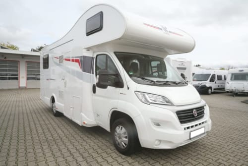 Hire a motorhome in Bargfeld-Stegen from private owners  Rimor  Barnie