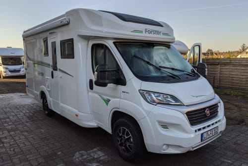Hire a motorhome in Detmold from private owners  Forster  Pauli