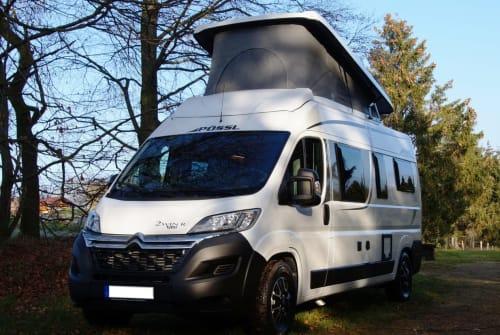Hire a motorhome in Hürtgenwald from private owners| Pössl Cedric