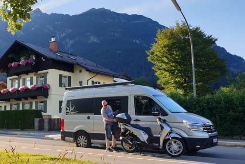 Hire a motorhome in Leipzig from private owners| VW Flotter Sven