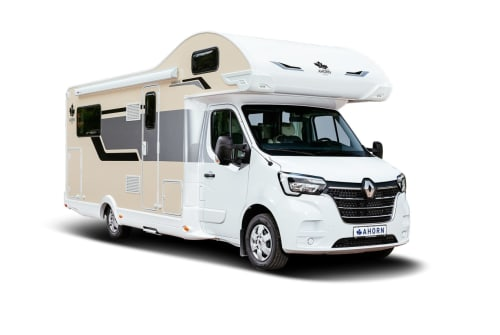 Hire a motorhome in Gera from private owners| Ahorn Canada AE