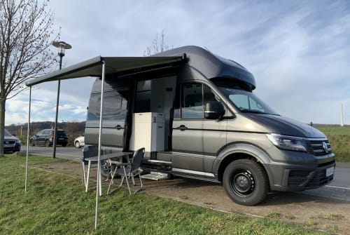 Hire a motorhome in Wetter from private owners| VW CaliGrey XXL