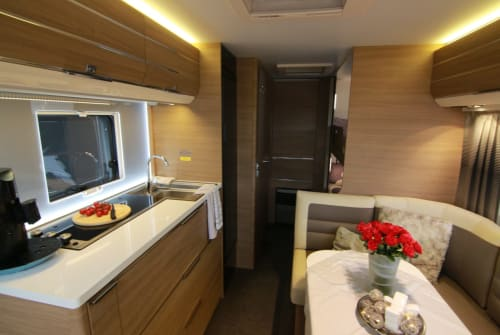 Hire a motorhome in Nettetal from private owners| Adria Konstanze