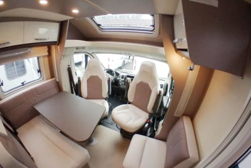 Hire a motorhome in Sinsheim from private owners  Bürstner Sir Henry