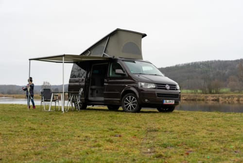 Hire a motorhome in Döbeln from private owners| VW T5 Cali 4motion