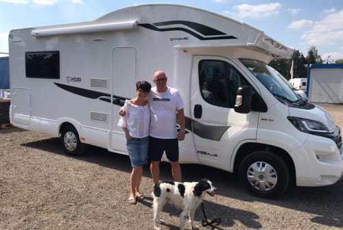 Hire a motorhome in Glienicke from private owners| XGO  Mister X