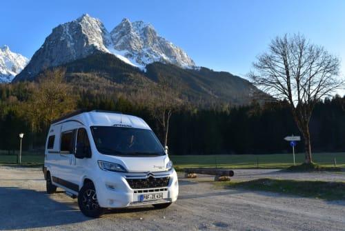 Hire a motorhome in Jetzendorf from private owners  Pössl EuropaEntdecker