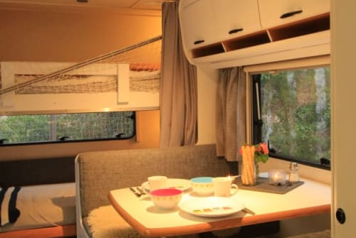 Hire a motorhome in Griesstätt from private owners  Hymer  Heidi